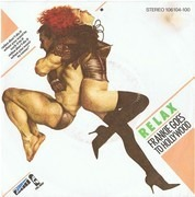 7inch Vinyl Single - Frankie Goes To Hollywood - Relax 'Suck It' / One September Monday 'Soap It Up'