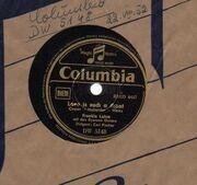 Schellack - Frankie Laine - Love Is Such A Cheat/ Allentown Jail