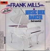 7inch Vinyl Single - Frank Mills - Music Box Dancer / The Poet And I (Instrumental)