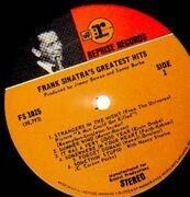 LP - Frank Sinatra - Frank Sinatra's Greatest Hits
