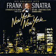 LP - Frank Sinatra - New York New York: His Greatest Hits - two-tone labels