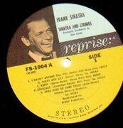 LP - Frank Sinatra - Sinatra And Strings