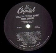 LP - Frank Sinatra - Songs For Swingin' Lovers