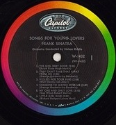 LP - Frank Sinatra - Songs For Young Lovers