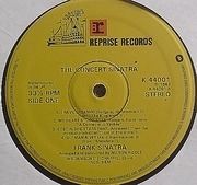 LP - Frank Sinatra - The Concert Sinatra