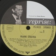 LP - Frank Sinatra - And Frank & Nancy