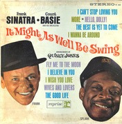 LP - Frank Sinatra, Count Basie Orchestra - It Might As Well Be Swing