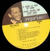 LP - Frank Sinatra & Count Basie - It Might As Well Be Swing