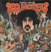 Double LP - Frank Zappa - 200 Motels - ITALIAN BROWN UAS