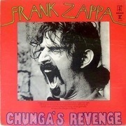 LP - Frank Zappa - Chunga's Revenge - A4 Times/Parts On Label Missing