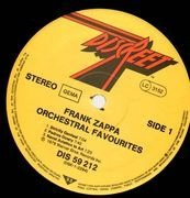 LP - Frank Zappa - Orchestral Favorites
