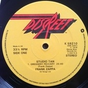 LP - Frank Zappa - Studio Tan - UK