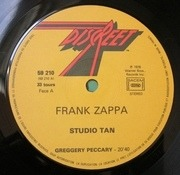 LP - Frank Zappa - Studio Tan - France