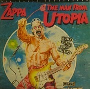 LP - Frank Zappa - The Man From Utopia
