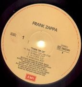 Double LP - Frank Zappa - Them Or Us - ITALIAN PRESSING
