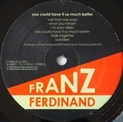 LP - Franz Ferdinand - You Could Have It So Much Better