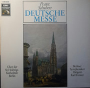 LP - Franz Schubert / Chor Der St. Hedwigs-Kathedrale Berlin / Berliner Symphoniker / Karl Forster - Deutsche Messe - Gold labels