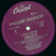 12inch Vinyl Single - Freddie Jackson - Crazy (For Me)