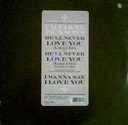 12inch Vinyl Single - Freddie Jackson - He'll Never Love You (Like I Do)