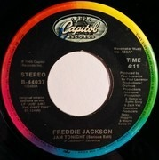 7inch Vinyl Single - Freddie Jackson - Jam Tonight