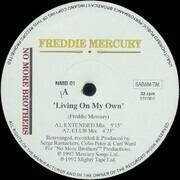 12inch Vinyl Single - Freddie Mercury - Living On My Own (The Remixes)
