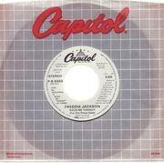 7inch Vinyl Single - Freddie Jackson - Rock Me Tonight (For Old Times Sake) - dj copy
