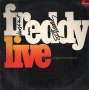 LP - Freddy Quinn - Freddy Live - Signed