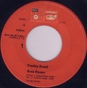 7inch Vinyl Single - Freddy Breck - Rote Rosen