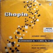 10'' - Frédéric Chopin , Alexander Uninsky - Klavierkonzert Nr. 1 E-moll Op. 11
