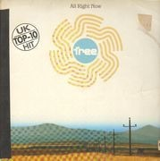 12inch Vinyl Single - Free - All Right Now - Maxi