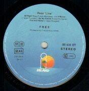 LP - Free - Free Live