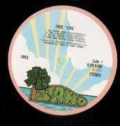 LP - Free - Free Live - Original 1st UK, envelope sleeve