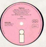 LP - Free - Highway - german original pink island