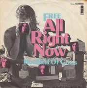 7inch Vinyl Single - Free - All Right Now