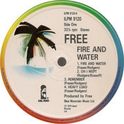 LP - Free - Fire And Water