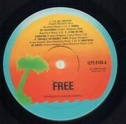 LP - Free - Free - ORANGE PALM TREE
