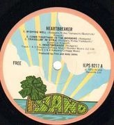 LP - Free - Heartbreaker - Original 1st UK, Pink Rim