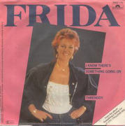 7inch Vinyl Single - Frida - I Know There's Something Going On