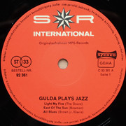 LP - Friedrich Gulda - Gulda Plays Jazz