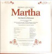 LP-Box - Friedrich von Flotow/Das Münchner Rundfunkorchester, H. Wallberg, L. Popp, P. Lika a.o. - Martha - booklet with libretto