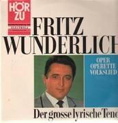 LP - Fritz Wunderlich - Der große lyrische Tenor