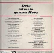 LP - Fritz Wunderlich, Kurt Böhme, Erika Köth,.. - Dein Ist Mein Ganzes Herz