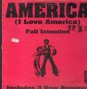 12inch Vinyl Single - Full Intention - America (I Love America)