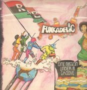 LP - Funkadelic - One Nation Under A Groove - Gatefold + 7inch Vinyl Single