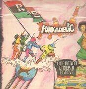 LP - Funkadelic - One Nation Under A Groove - Gatefold + 7inch Vinyl Single