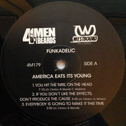 Double LP - Funkadelic - America Eats Its Young - 180G