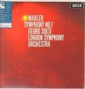 LP - Mahler / Georg Solti / London Symphony Orchestra - Symphony No. 1 - 180g