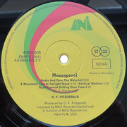 LP - G.F. Fitzgerald - Mouseproof - Original 1st German