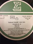 LP - Gabriel Fauré , Louis Frémaux - Requiem