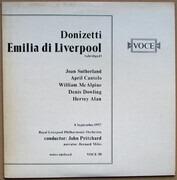 LP - Donizetti - Emilia Di Liverpool